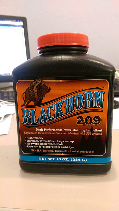 Blackhorn 209 High Performance Muzzleloading Propellant