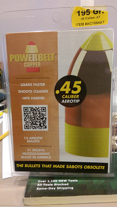 Powerbelt Copper .45 Caliber Aerotip