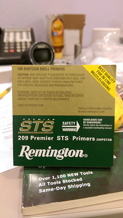 Remington 209 Premiere STS Primers